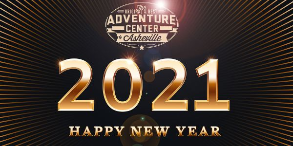 Welcome 2021 at The Adventure Center of Asheville!